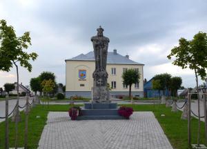 Vytautas statue in Veliuona