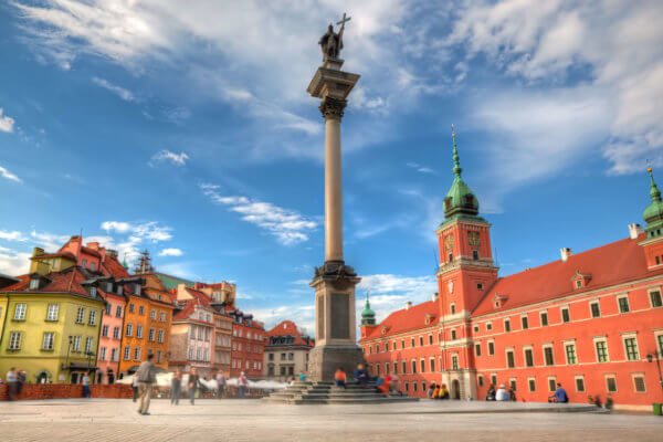 Visiting Warsaw Old Town Churches Museums