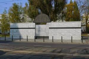 Umschlagplatz Monument Warsaw Poland