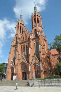 cathedral complex of the Assumption of the Holy Mary Bialystok Poland