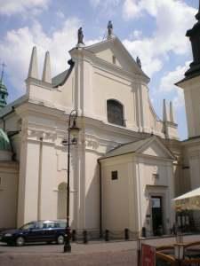 St Jacek Church Warsaw Poland