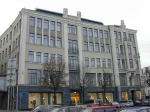 Leiba and Rebecca Zalkind Trading Building Vilnius