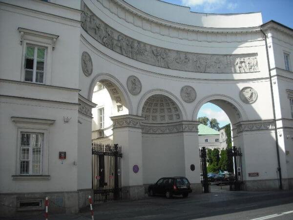 Pac Palace Warsaw Poland