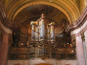 University Church Budapest Organ