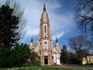 Kobanya Parish Church Budapest Outside City Center