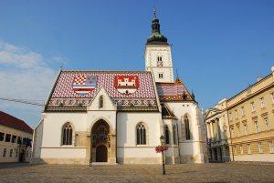 St Marks Church Upper Town Zagreb