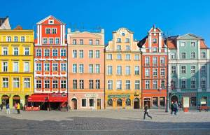 Wroclaw Colored Houses