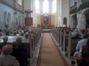 St Martin Church Interior Kurzeme Riga