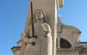 Orlando's Column Dubrovnik