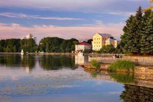 Ternopil Ukraine Water View