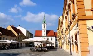 Tomislav Square Varazdin Croatia