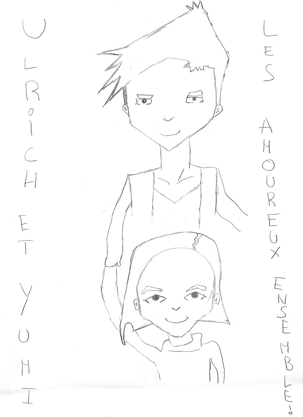 Fanarts > Visionnage : ulrich et yumi • Code Lyoko