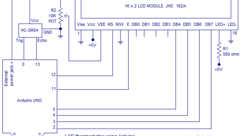 small resolution of simple ultrasonic range finder using arduino circuit diagram program and theory codemade io