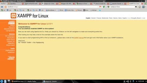 xampp 64 bit linux