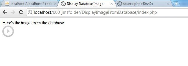 PHP: Display Image from Database