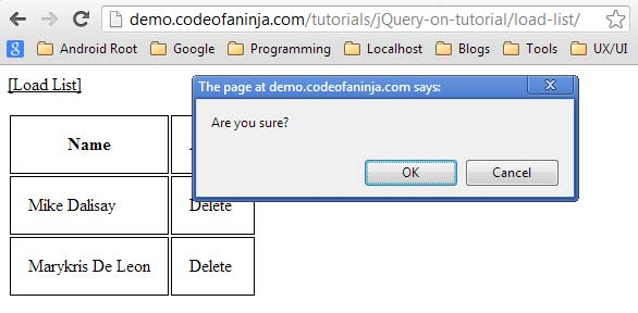 jquery-on-tutorial---load-table-list