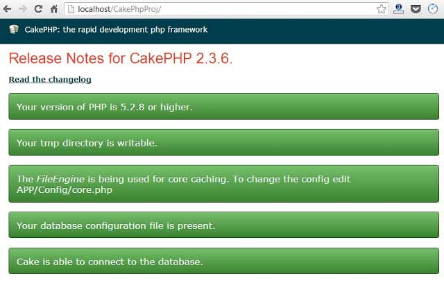 cakephp-installation-fix