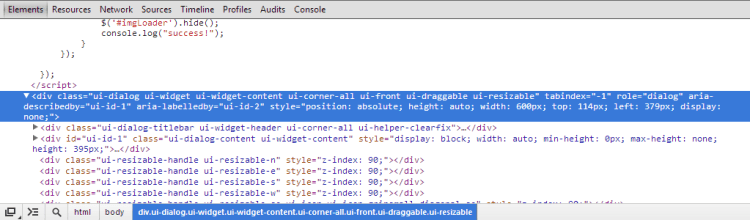 jquery ui dialog not destroyed or removed