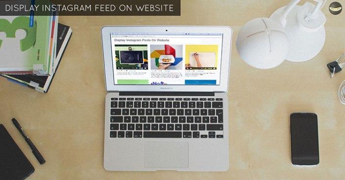 display-instagram-feed-website