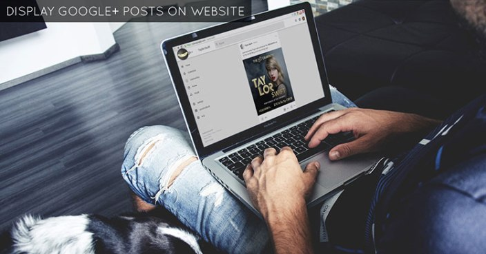 display-google-plus-posts-on-website