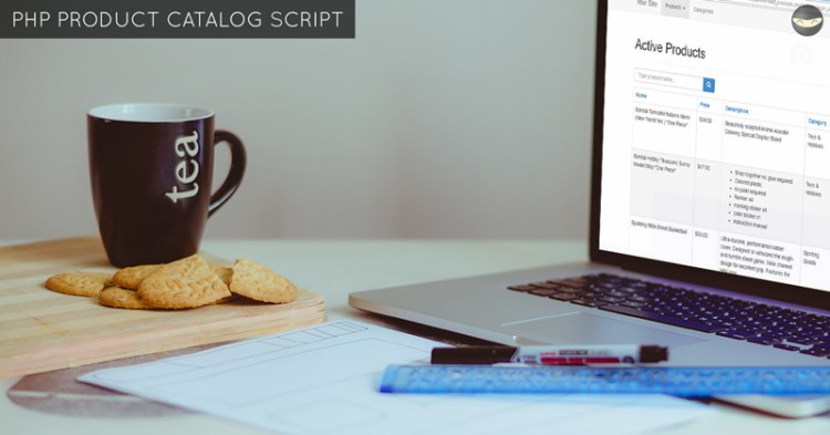 php-product-catalog-script