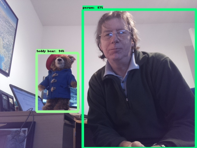 Image 8 for Adding Object Detection with TensorFlow to a Robotics Project