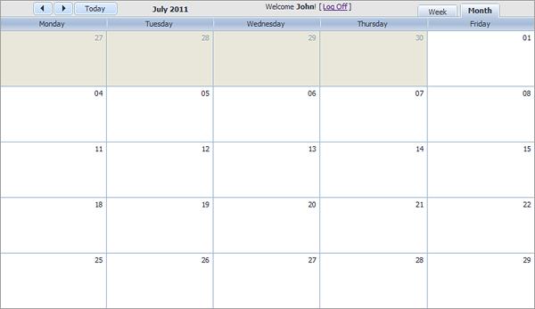 Free Reservation Calendar Template | Resume Job Duties For