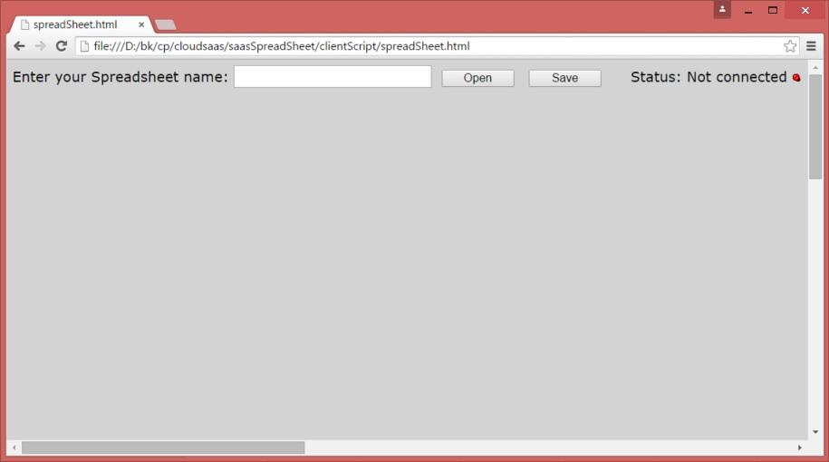 Online Spreadsheet, a low latency html5 websocket Cloud service ...