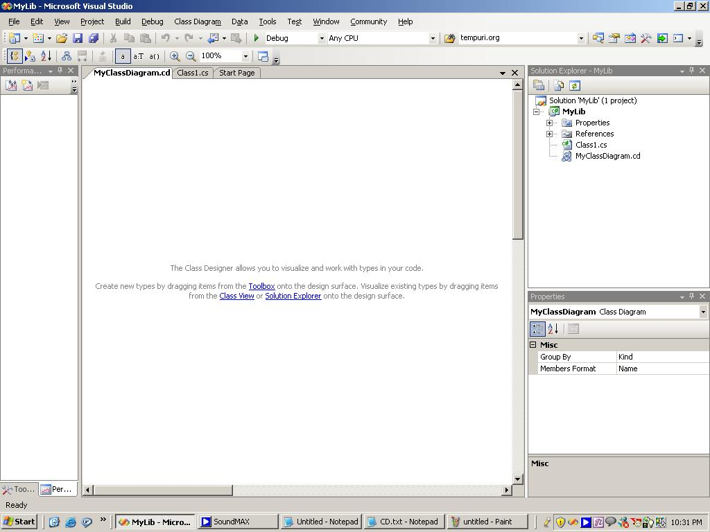 visual studio view class diagram ground fault wiring in vs net 2005 codeproject