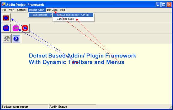 .NET based Addiin Project Framework