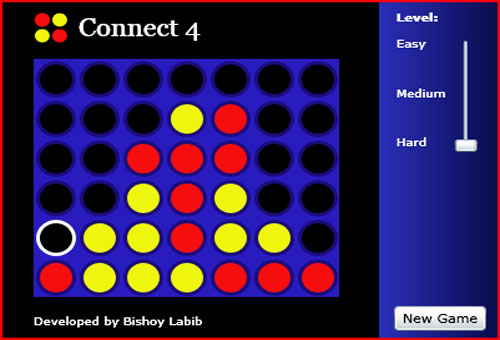 connect4 codeproject