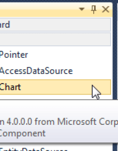 If you drag the chart control into design surface visual studio adds some settings to webnfig this will be done automatically so following also asp codeproject rh