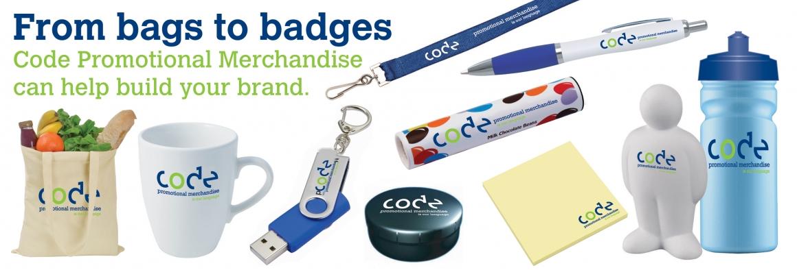 code promotional merchandise code