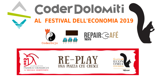 CoderDolomiti al Festival dell'Economia 2019