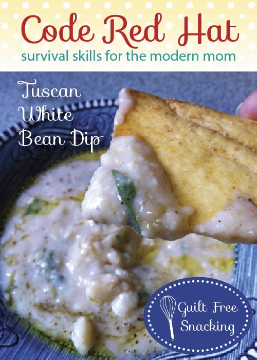 Tuscan White Bean Dip Recipe