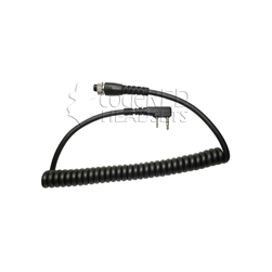 Replacement Microphone Cord for Kenwwood|Baofeng 2Way Radios