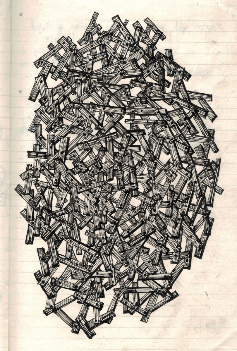 boarded-up Doodle Tuesday: Boarded Up doodle art