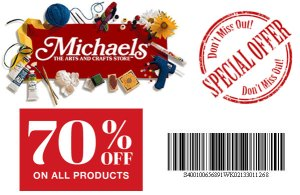 Michaels Promo Coupon Codes