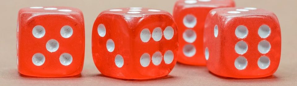 Dices making a random number