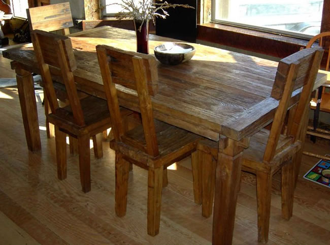 Why Your Home Needs Reclaimed Wood Furniture