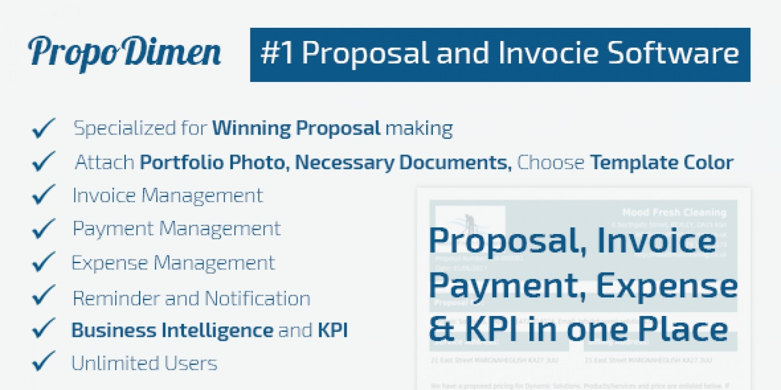 Propodimen - Proposal Invoicing Php Script .
