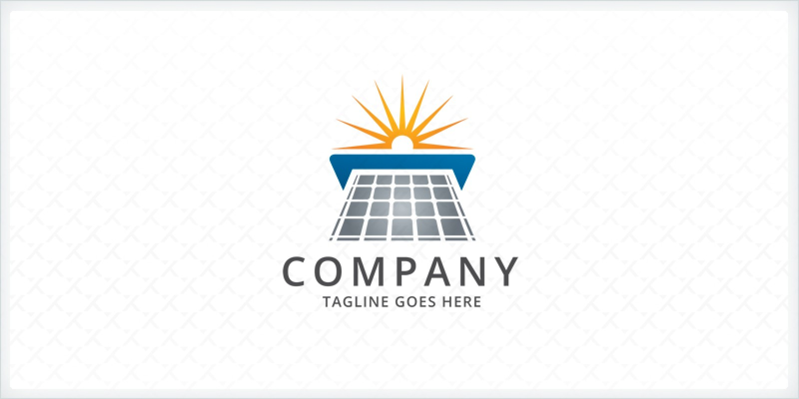 Solar Panel Logo Template By Zixlo