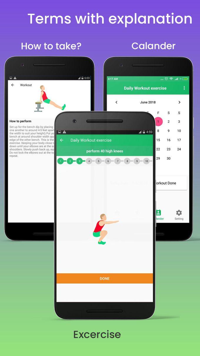 Android Fitness App Source Code Github   Wajifitness co