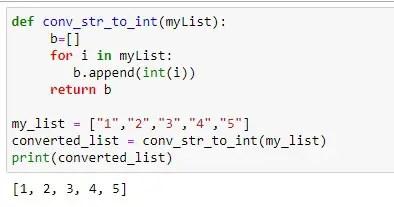 Conversion using custom function