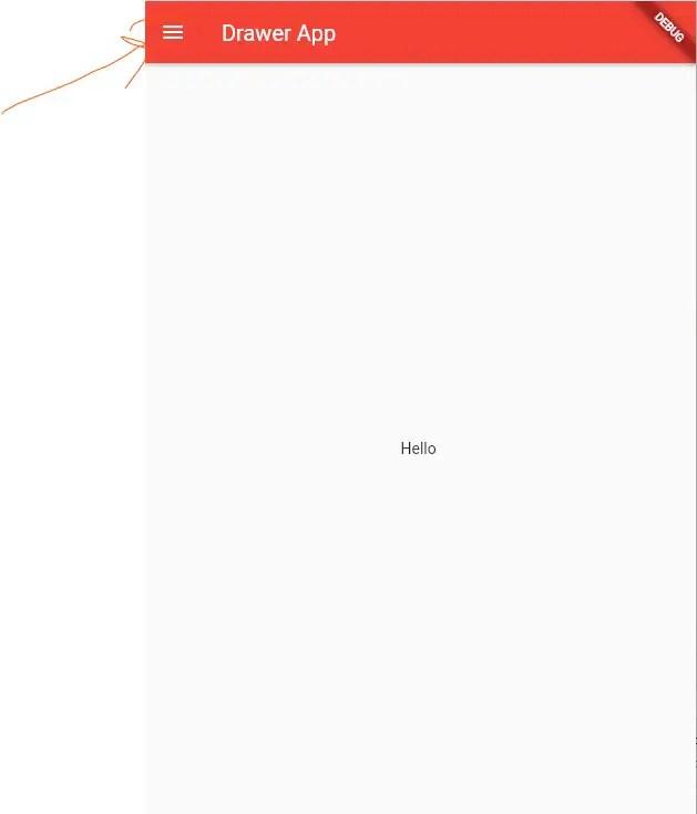 Drawer Widget Home Screen