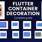 Flutter Container Decoration