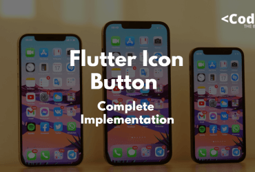 Flutter Icon Button