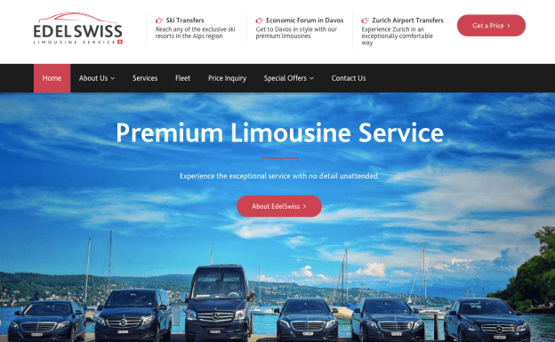 Edelswiss-Limousine.ch Website Review
