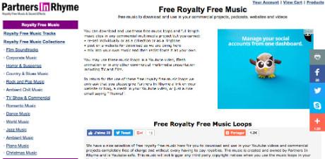 Musique libre de droit pour vidéos