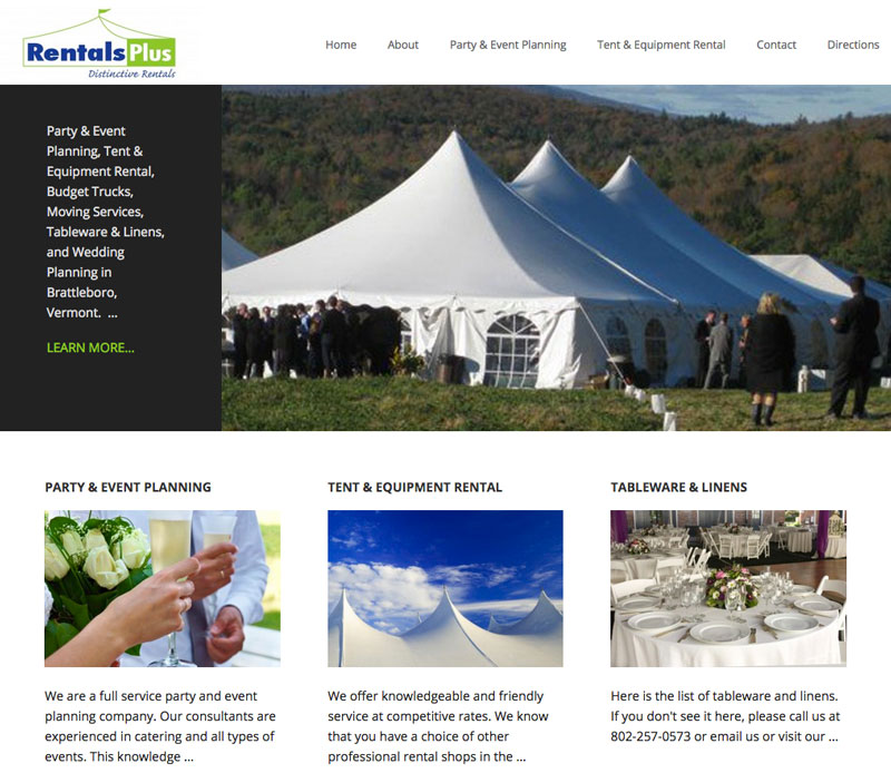 Vt Rentals Plus Website